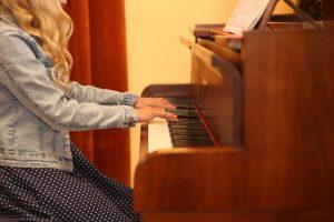 Nauka gry na fortepianie – galeria
